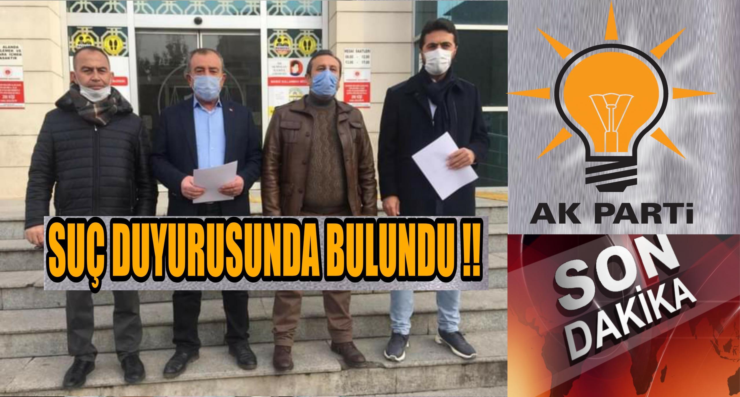 İLKER BAŞBUĞ, CAN ATAKLI, FİKRİ SAĞLAR HAKKINDA SUÇ DUYURUSU !!