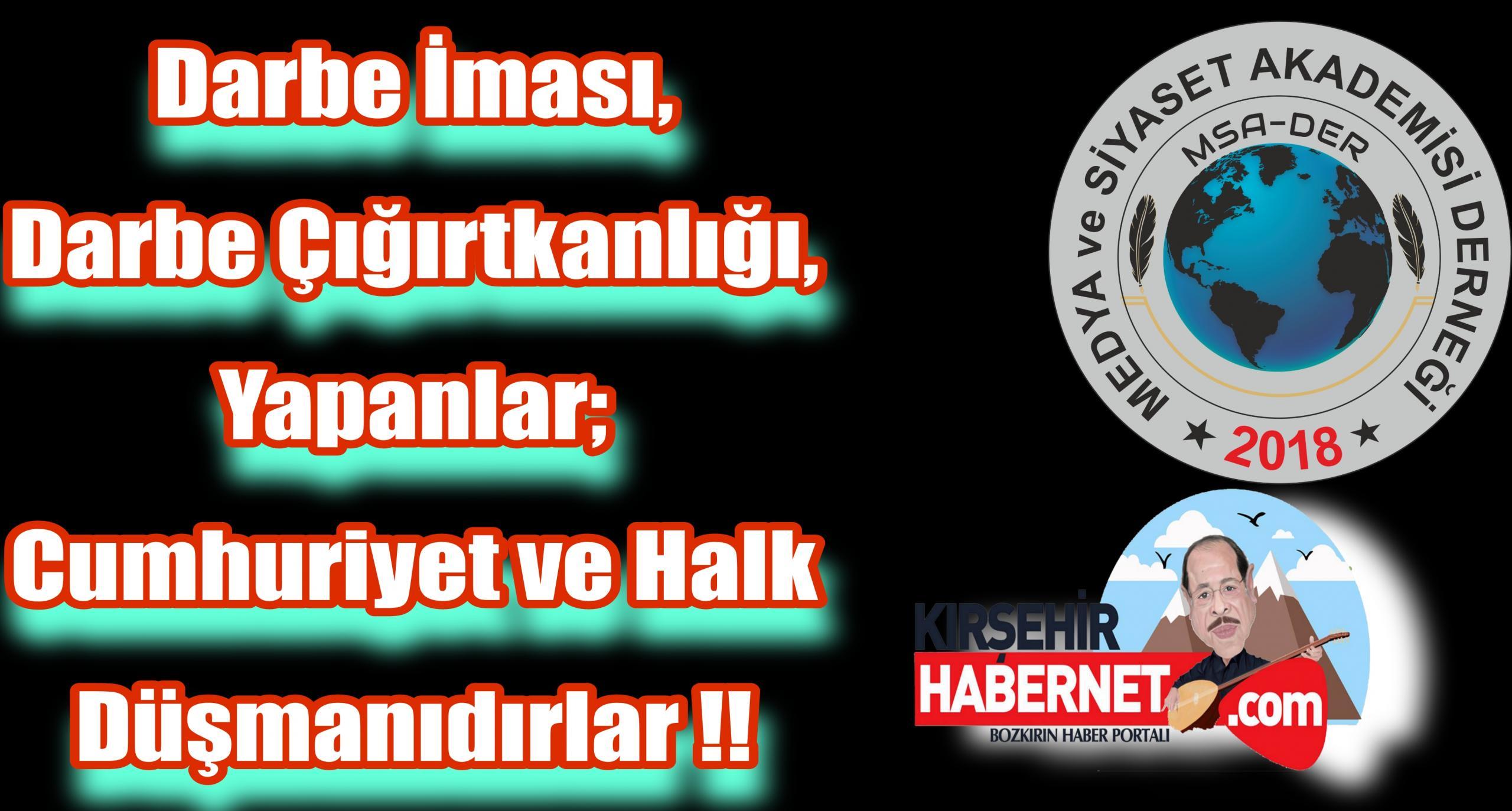 DARBE İMASI YAPANLAR VATAN HAINIDİRLER !!