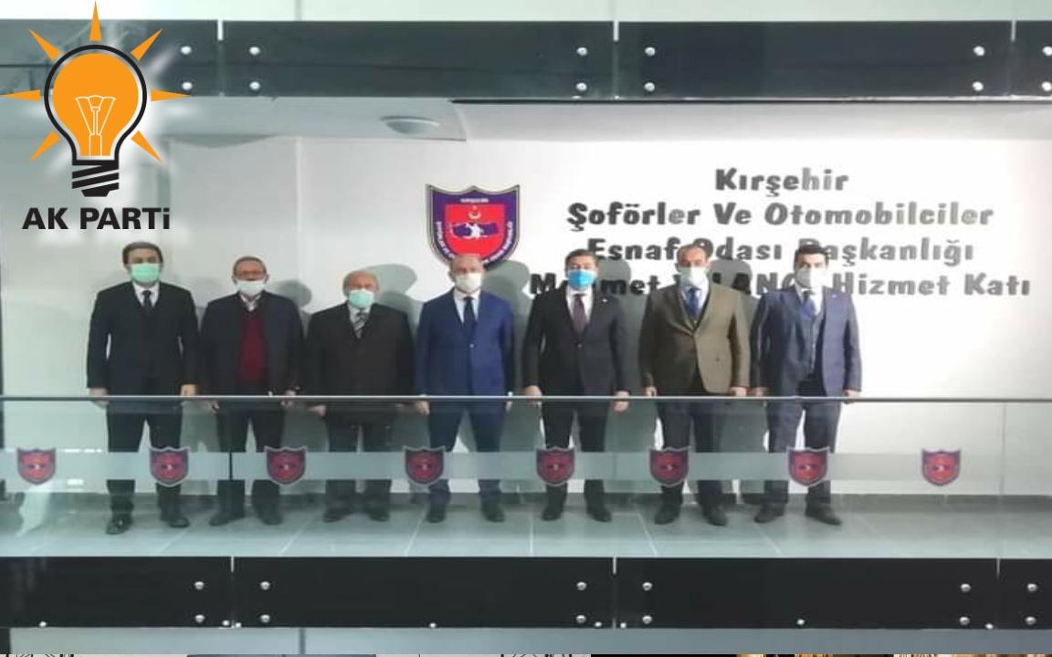 ŞOFÖRLAR ODASINA HAYIRLI OLSUN ZIYÂRETİ !!