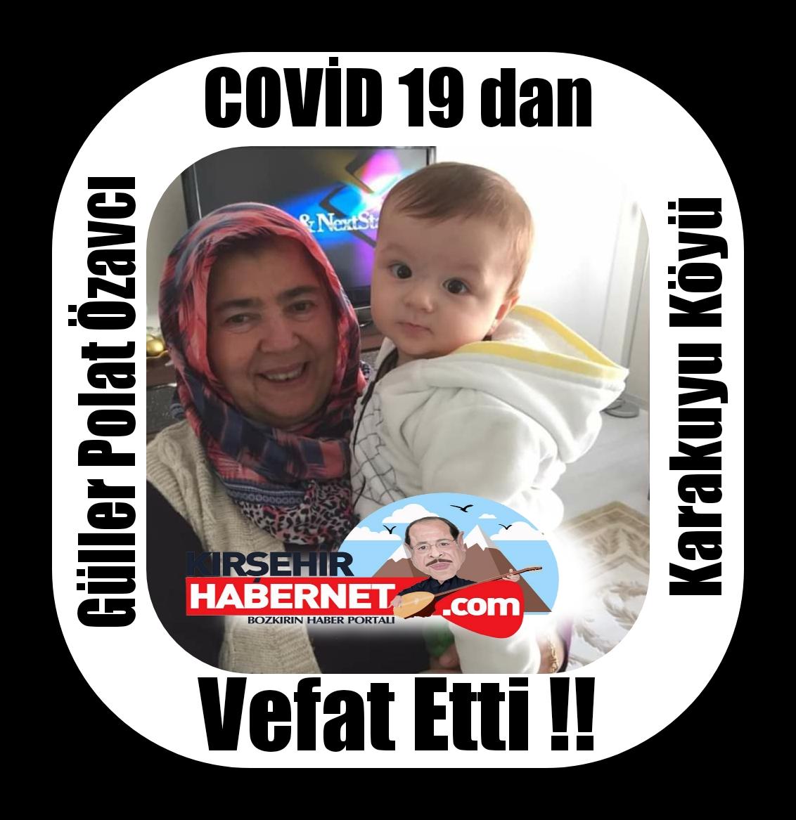 COVİD 19 dan KARDEŞİ ile ARD ARDA VEFAT ETTİ !!