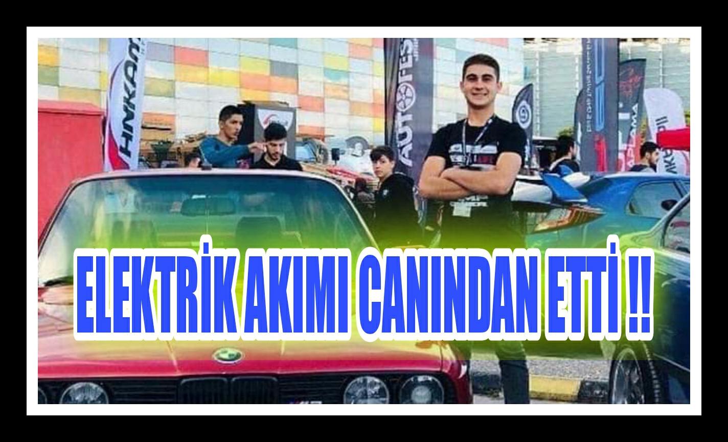 ELEKTRİK AKIMI CAN ALDI !!