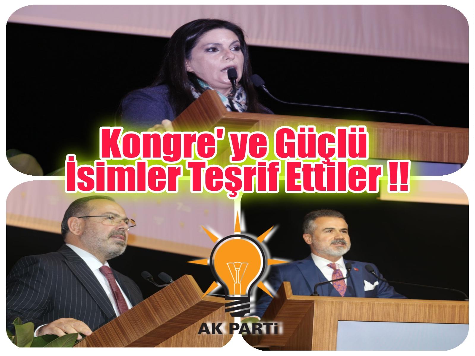 KONGREYE GÜÇLÜ İSİMLER TEŞRİF ETTİLER !!