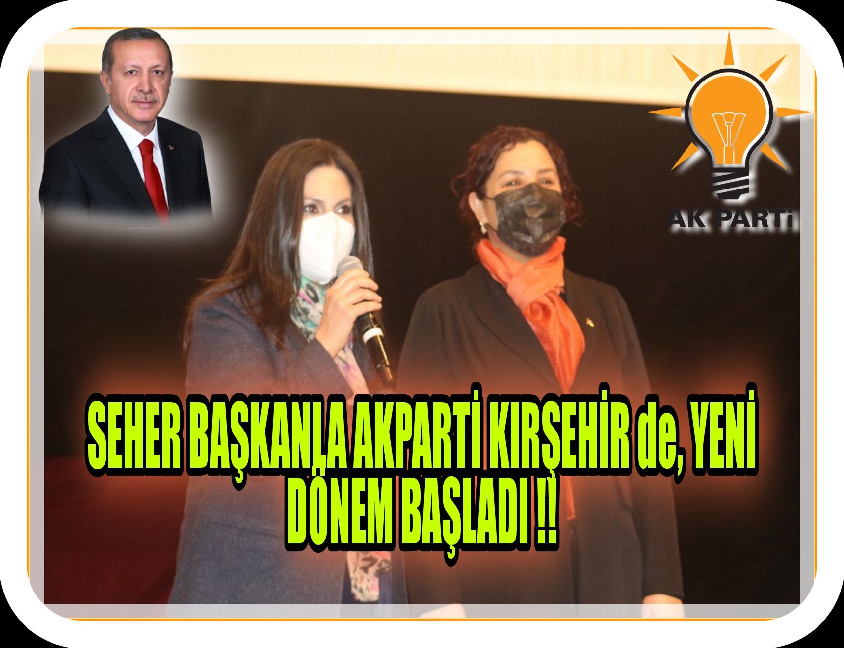 ARTIK RESMEN İL BAŞKANI SEHER ÜNSAL !!
