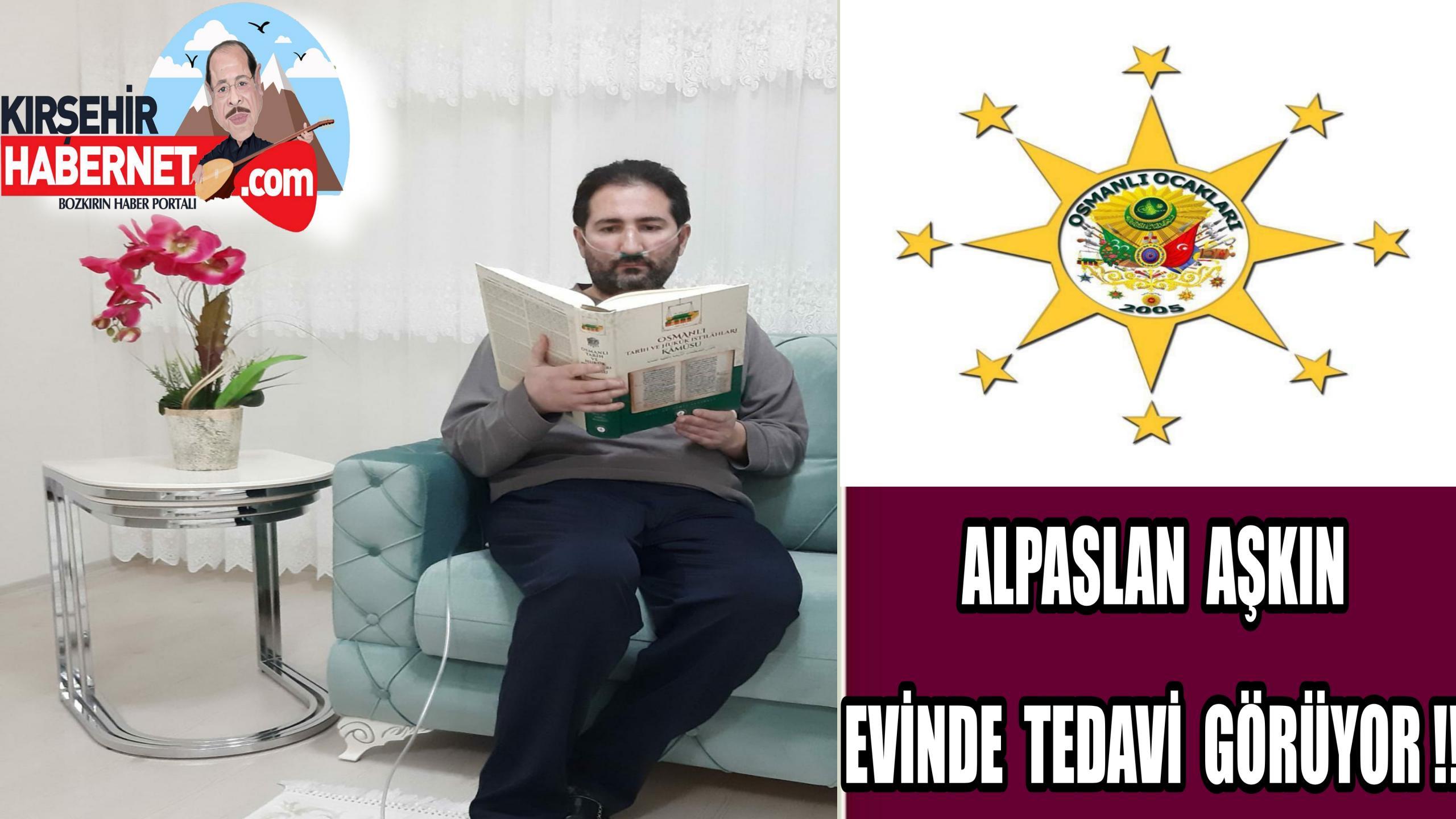 CORANAVİRUS TEDAVİSİ EVİNDE SÜRÜYOR !!
