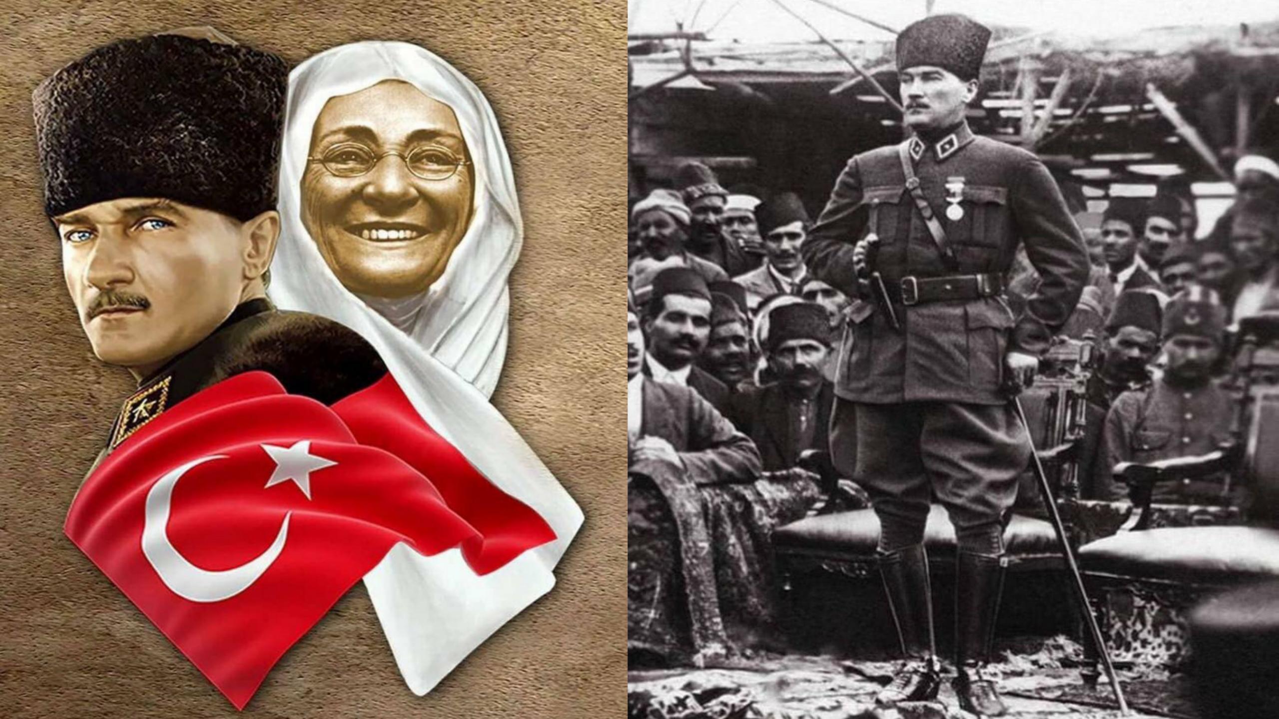 BİR ANNE EVLAT YETİŞTİRİR !! BAĞIMSIZLIK SAVAŞINI KAZANIR !!
