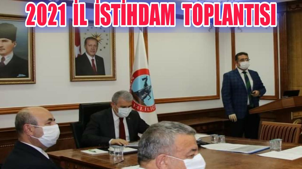 İŞKUR MÜDÜRÜ BİRİFİNG VERDİ !!