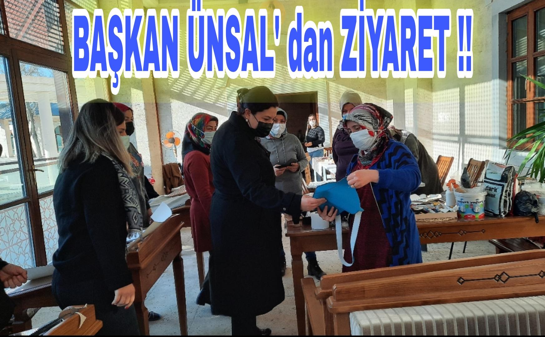 KADIN GİRİŞİMCİLERİ ZİYARET ETTİ !!