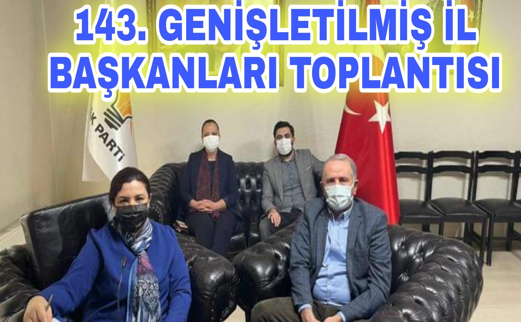 BAŞKAN ERDOĞAN İL BAŞKANLARI TOPLANTISI YAPTI !!