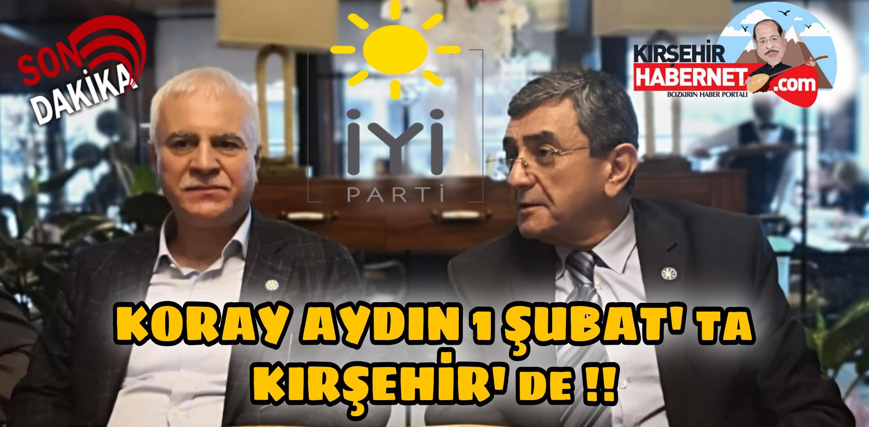 TEŞKİLAT BAŞKANI KIRŞEHİR' DE !!