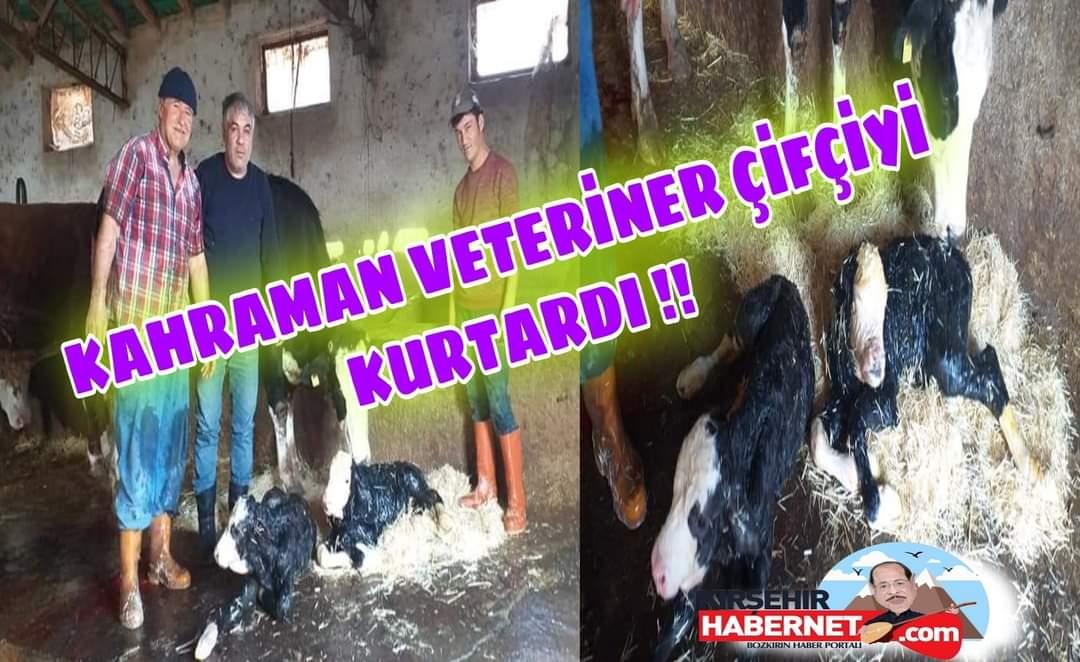 KAHRAMAN VETERİNER !!