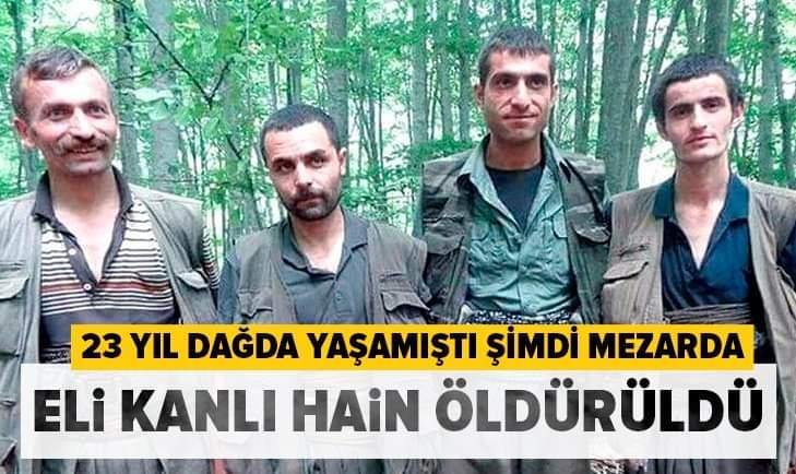 PKK' NIN AMANOS SORUMLUSU ÖLDÜRÜLDÜ !!