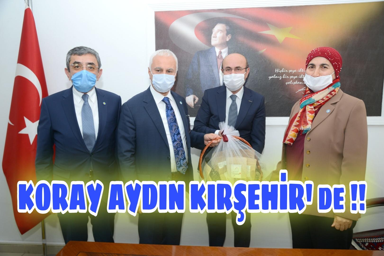 KORAY AYDIN KIRŞEHİR'DE !!