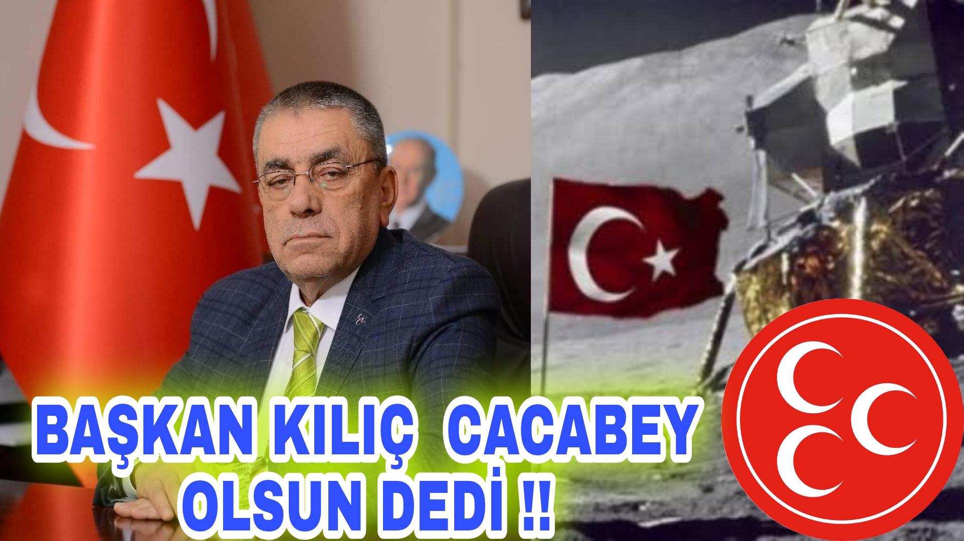 """KIRŞEHİR İÇİN """"CACABEY"""" OLSUN DEDİ !!"""