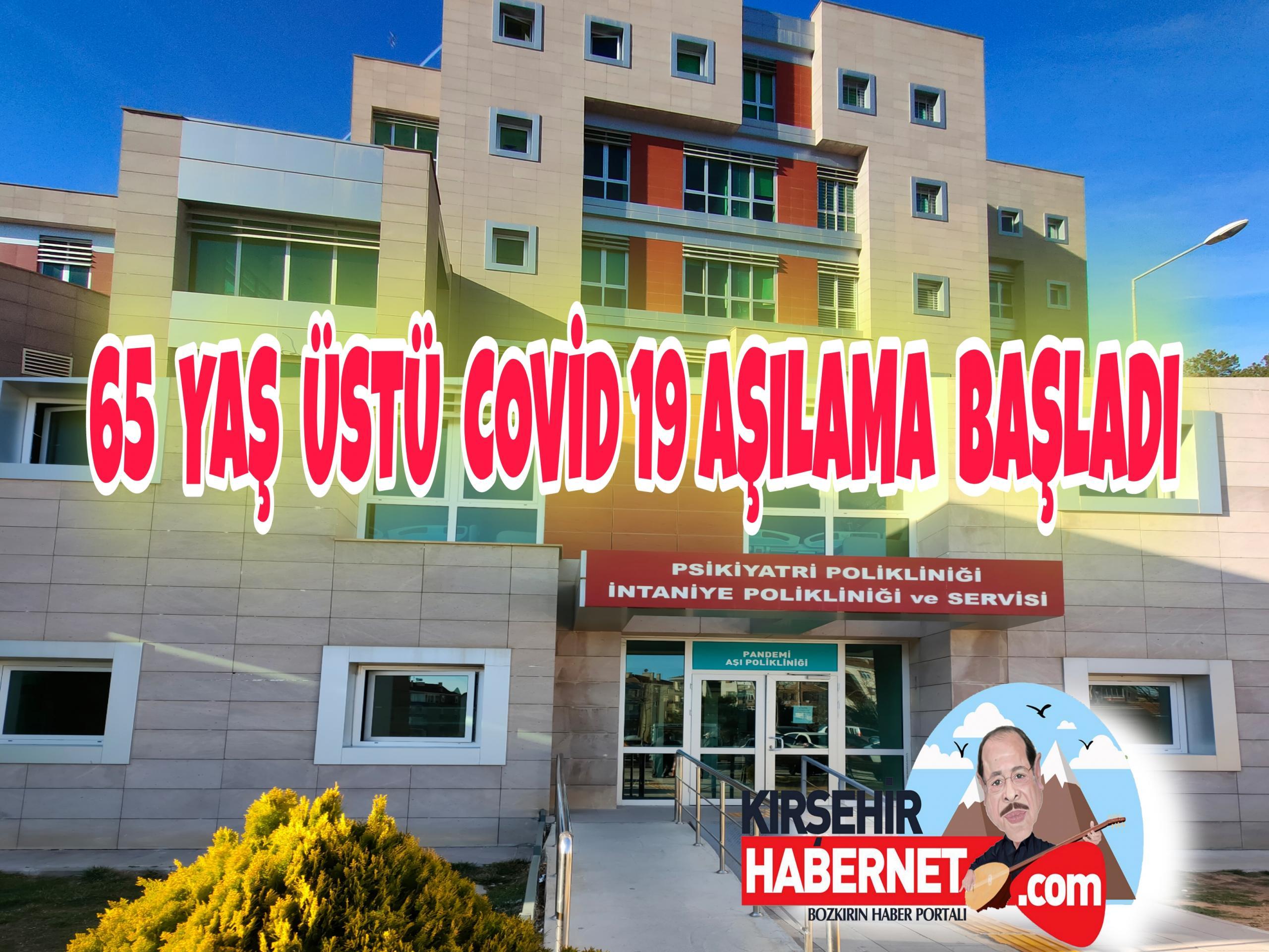 KIRŞEHİR' DE COVİD 19 AŞILAMA BAŞLADI !!