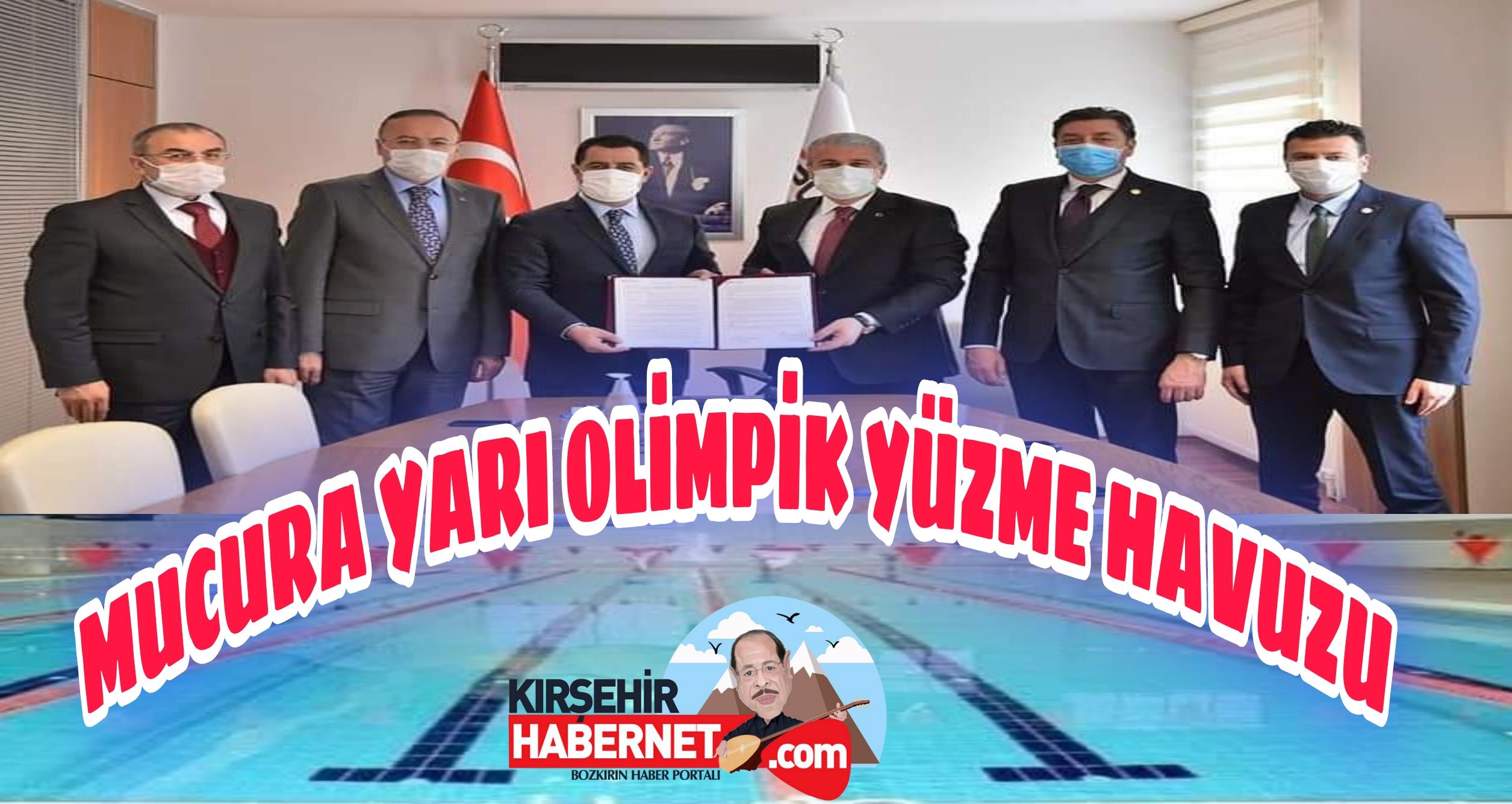 MUCUR' a YARI OLİMPİK YÜZME HAVUZU !!