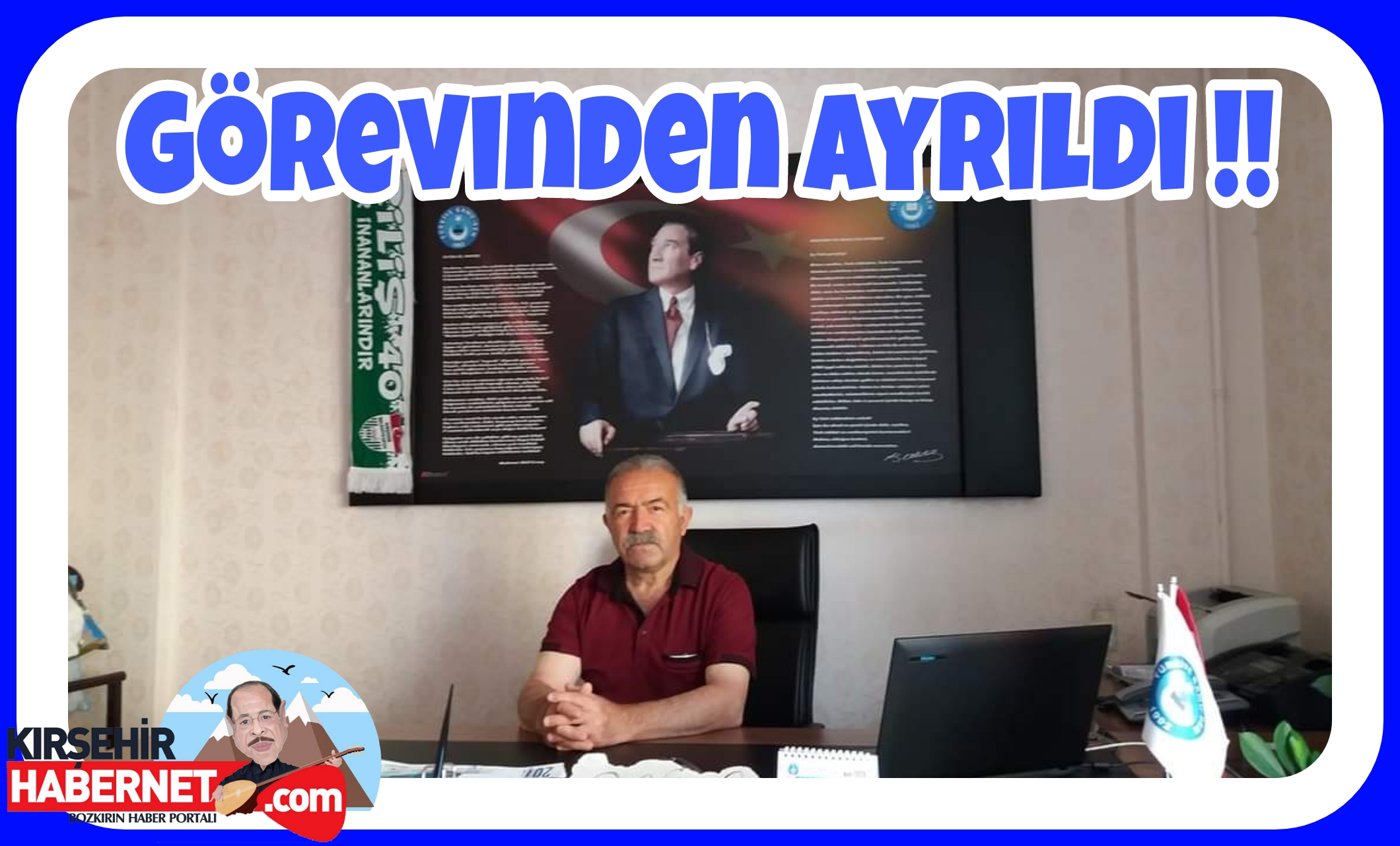 BİLAL TÜRK GOREVİNİ BIRAKTI !!