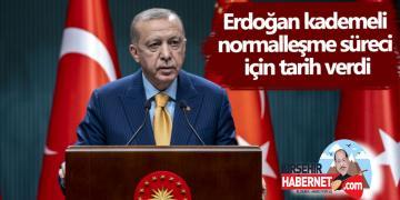 MART' ta KADEMELİ NORMALLEŞME BAŞLIYOR !!
