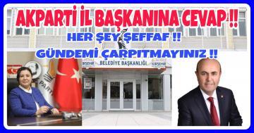 EKİCİOĞLU: HER ŞEY NET ORTADA !!