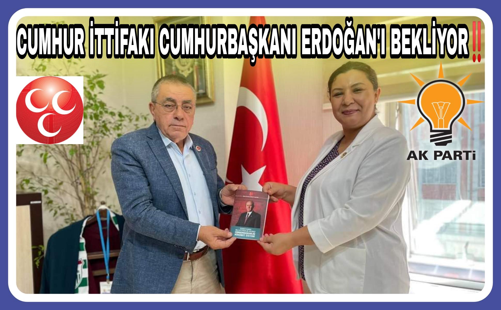 SEHER ve ARİF BAŞKAN, BAŞKAN ERDOĞAN'I BEKLİYOR